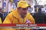 Proteste din nou pentru spital