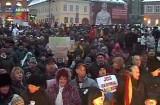 Sindicaliştii braşoveni protestează la Bucureşti