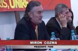 Miron Cozma a anuntat că va candida la preşedinţia României
