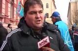 Protestul sindicaliştilor