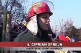 Incendiu pe strada Stejerişului