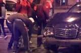 Accident în giratoriul de la Gara Braşov