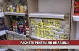 Pachete pentru mii de familii