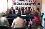Sanitas se pregăteşte de proteste