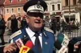 Jandarmii, spectacol în Piaţa Sfatului