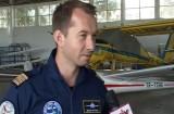 Mihai Sturzu şi-a luat brevetul de pilot la Ghimbav