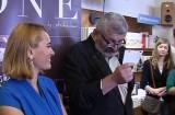 Andreea Esca si-a lansat cartea la Brasov