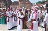 Spectacol iordanian în Piața Sfatului